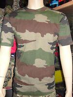 T-shirt Armée Française camouflage Centre Europe maillot cam c/e camo camouflé