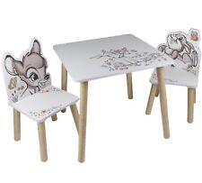 Disney Bambi Sitzgruppe holz kindertisch tisch kindersitzgruppe kinderzimmer