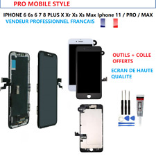 ECRAN COMPLET VITRE TACTILE LCD OLED CHASSIS IPHONE 6 6S 7 8 X XS XR 11 PRO MAX