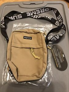 Supreme SS18 Shoulder Bag (Tan) CorDura Fabric New With Tags Free Shipping