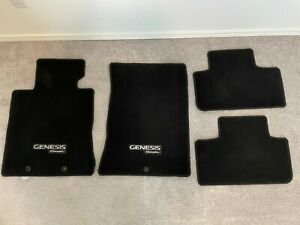 Hyundai Genesis Coupe 10 11 12 Genuine OEM All Weather Floor Mats Fronts