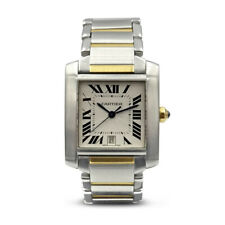 Cartier Automatic Tank Francaise 2302 Stainless Steel 18ct Gold Watch