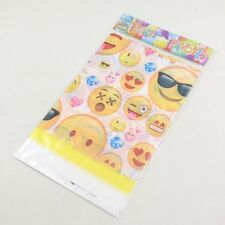 180x108cm Disposable PVC Table Cover Tablecloth Kids Party Emoji