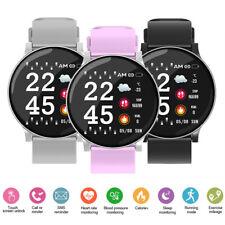 Reloj inteligente W8 banda de frecuencia cardíaca para hombres y mujeres de presión arterial Fitness Pulsera de oxígeno