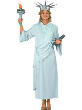 Womens 14-16 Miss Statue of Liberty 4th Fourth of July American Parade Costume