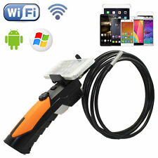 1M WIFI Endoscope Inspection Snake Camera 8.5mm Borescope For Android IOS
