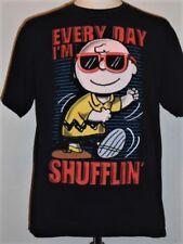 retro Peanuts CHARLIE BROWN  Every Day I'm Shufflin' T-shirt