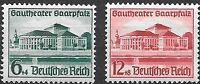 Germany Third Reich 1938 Mi# 673-674 MH Opening of Gautheather *
