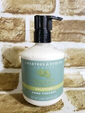 Crabtree & Evelyn PEAR & PINK MAGNOLIA Uplifting Hand Therapy With Pump 8.64 Oz
