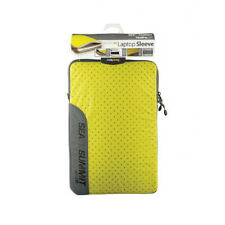 """11"""" LIME Sea To Summit Travelling Light Outdoor Camping Laptop Sleeve"""