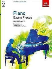 Piano Exam Pieces - ABRSM Grade 2,  2015 & 2016