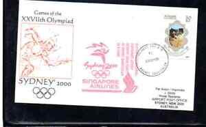 SINGAPORE AIRLINES OLYMPIC FLIGHT BRUNEI - SYDNEY 2000