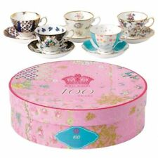 Royal Albert Teacup & Saucer Set 5 Piece 1900-1940 Assort 100 Years Gift Box NEW