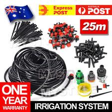 25M Garden DIY Hose irrigation System Micro Watering Drip Auto Planting Flower