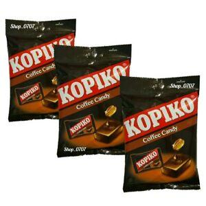 3 Packs x 150g  KOPIKO Coffee extract hard Candy