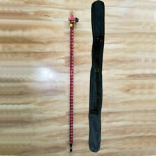 New Red Carbon Fibre Pole 25m For Gnss Gps Rtk Surveying
