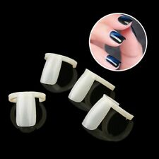 50 PCS Ring Natural Color False Nail Art Tools Polish Display Practice Tips Hot