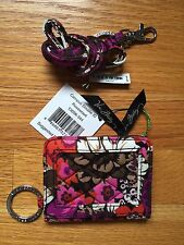 Campus Double ID & Lanyard Rosewood NWT Free Shipping