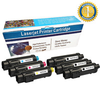 6 PK S2825 2825 Color Toner Cartridges For Dell H825cdw H625cdw Smart S2825cnd