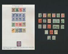 China British Post Offices, 1901-1930 Kgv & Kevii Hong Kong Treaty Ports To $1