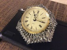 Paul Sebastian Crystal Quartz Clock -West Germany