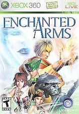 XBOX 360 Enchanted Arms Video Game multiplayer online anime action adventure