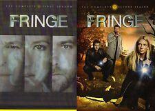 Fringe Seasons 1 & 2. 2 Boxsets-13DVD. Brand New In Shrink!