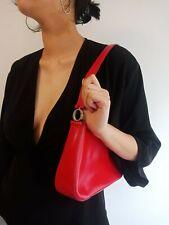 Oroton Shoulder Leather Bag Vintage Red Great Condition Genuine