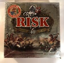 COMPLETE! Risk 40th Anniversary Collector's Edition Board Game with Metal Pieces