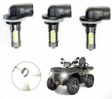 POLARIS SPORTSMAN HEADLIGHT LED BULBS 270W HIGH POWER 6000K WHITE 4800LM 3 PACK