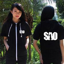 T-shirt Anime Sword Art Online Hoodie Jacket Unisex Coat Cap Hooded Sweater