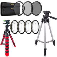58mm Macro Filter + UV CPL ND + Flexible Tripod For CANON EOS 700D 1200D 1300D