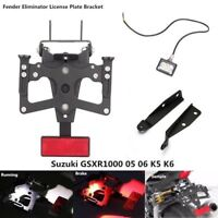 New Fender Eliminator Kit License Plate For Motorcycle  Suzuki GSXR1000 05 06 K5