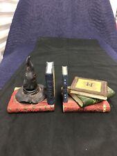 Harry Potter Book Ends - Sorting Hat 2000 Warner Brothers