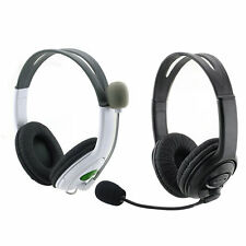 For PS3 PC Laptop Wired Game Live Gaming Headset Headphone Microphone F5
