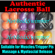 TWO Authentic Lacrosse Balls meets NCAA & NFHS Rules Spec