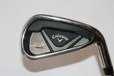 Callaway X2 CHAUD Fer 6, RH, Tige en graphite, 55-A, Club de golf (551)