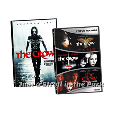 The Crow: Complete Brandon Lee Fantasy Movie Series 1 2 3 4 Box / Dvd Set(s) New