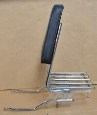 1969-72 KAWASAKI H1-500 TRIPLE LUGGAGE RACK w BACKREST!