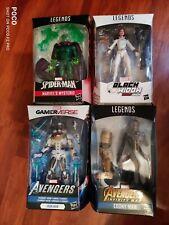 MARVEL LEGENDS Action Figure Lot random series Mysterio Ironman black widow