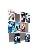 Edelstahl Designer-Wandregal DVD-Wall4x3 für DVD-Aufbewahrung - 2.Wahl