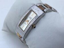 Anne Klein Swiss Ladies Watch Gold/Silver Tone Analog Swiss Movt