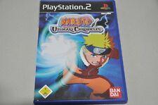 Playstation 2 Spiel - Naruto Uzumaki Chronicles Bandai -komplett Deutsch PS2 OVP