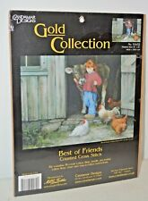 Candamar Designs Gold Best of Friends by Robert Duncan Counted Cross Stitch Kit