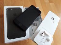 Apple iPhone 7 256GB in  matt-schwarz / simlockfrei + iCloudfrei + TOPP !