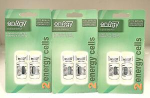 3XTwin Pack Liquid Enrgy Universal Refills 6X12.5ml Mini Cells Braun(3X2Packs)