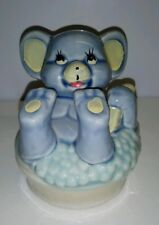 MOUSE IN A BUBBLE BATH~ SMALL MONEYBOX~WITH STOPPER