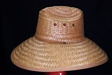 WIDE BRIM COCOA STRAW HAT - BUY DIRECT FROM FACTORY