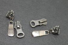 2 Paar Ersatz Schieber 2 Wege Zipper Nummer 5 für Reißverschluss Kunststoff Grob