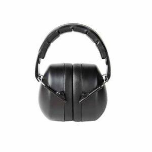 3M 90563-5DC Folding Earmuff, Black, 1/Pack